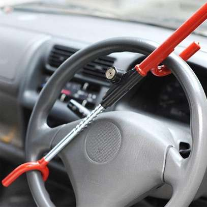 Anti-Theft Lock Steering Wheel