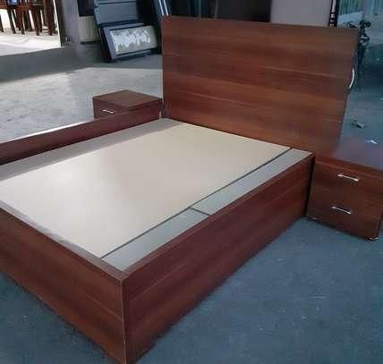 New Laminated Bed 1.50 cm + 2 Comodino image 1