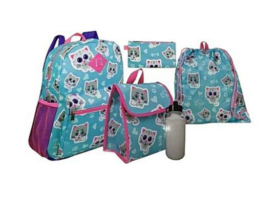5 pieces school bag