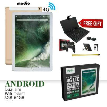 Modio 4G LTE tablet  የ 2021ዘመናዊ Tab በተመጣጣኝ ዋጋ ከነጻ ስጦታዎች ጋር በ 6499 ብር ብቻ image 3
