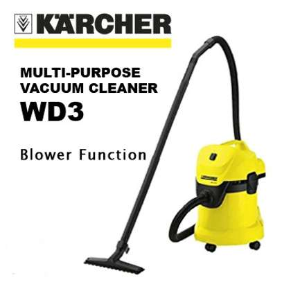 Karcher WD3 Wet & Dry Vacuum Cleaner (Yellow/Black)