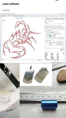 CRONOS 65*65cm 15W/30W Laser Engraving Machine, fixed focus 2Axis Desktop DIY Laser Engraver image 7