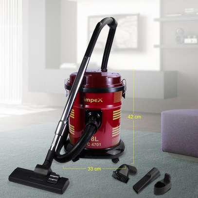 Impex Vacum Cleaner With Blower Function 1600 Watts, image 2