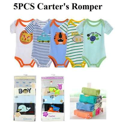 5Pcs Carter's Diaper T-shirts For Baby