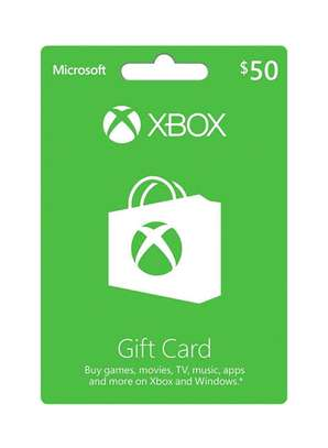 XBox Gift cards available