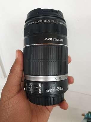 Canon 55-250mm lense image 1