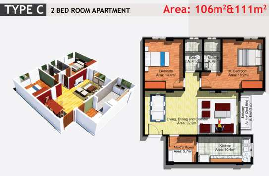 JAMBO REAL ESTATE 1 & 2 BEDROOM APARTMENT image 3