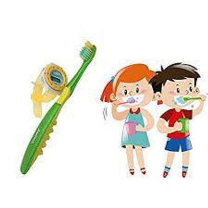 Kids Toothbrushes with Free Watch