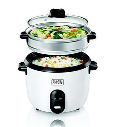 Black+Decker Rice Cooker With Steamer
