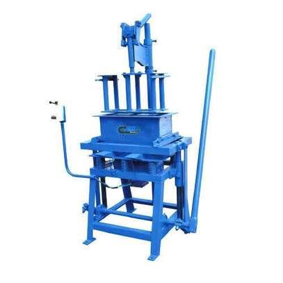 Concrete Block Manufacturing Machine image 1