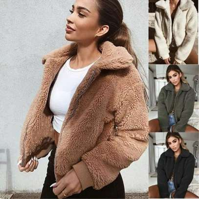 Assorted Colors Fur Jacket