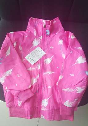 Pink Girls Jacket