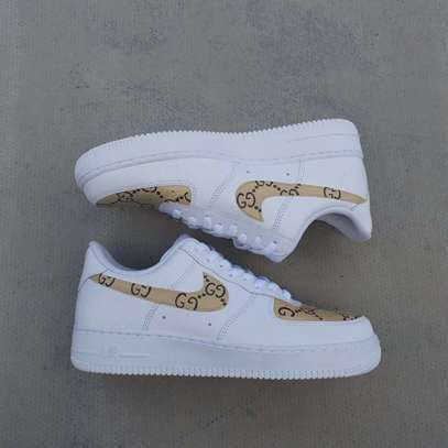 Nike Airforce 1 X Gucci Shoes For Men