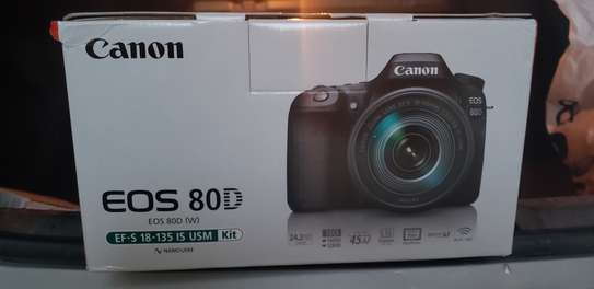 Canon EOS 80D with lense 18-135mm IS USM