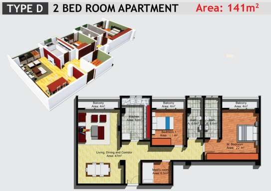 JAMBO REAL ESTATE 1 & 2 BEDROOM APARTMENT image 9