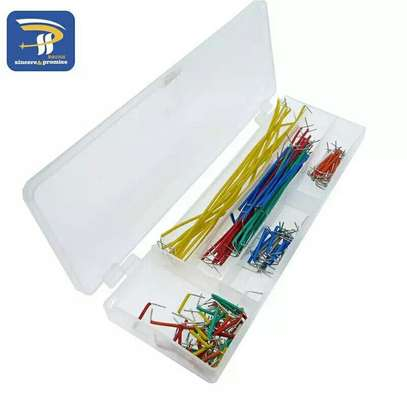 140 pieces U Shape Solder less Breadboard Jumper Cable Wire Kit For Arduino Raspberry Pi DIY