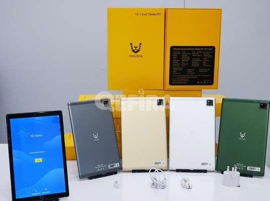 "Vikusha Android Tablet PC 10.1"" :boom:With Keyboard የ2021 ዘመናዊ ታብሌት በተመጣጣኝ ዋጋ ከሙሉ አክሰሰሪ ጋር 6499 ብር ይደውሉ በነፃ እናደርሳለን image 2"