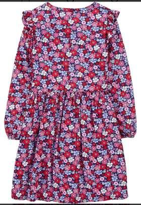 Carter's Red Floral Dress image 2