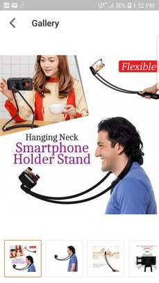 Hanging Neck-Smart Phone Holder Stand