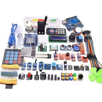 ?UNO R3 Project Complete Starter Kit including SG90 , Joystick Module, Ultrasonic Sensor, DHT11,ect. for Arduino with Tutorial #kit #arduino #maker_kit_21 image 1