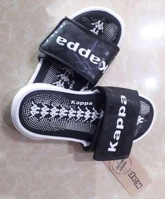 Black New Fashion Kids Kappa Shoes