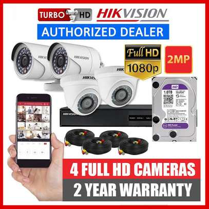 Security Camera, CCTV Hikvision