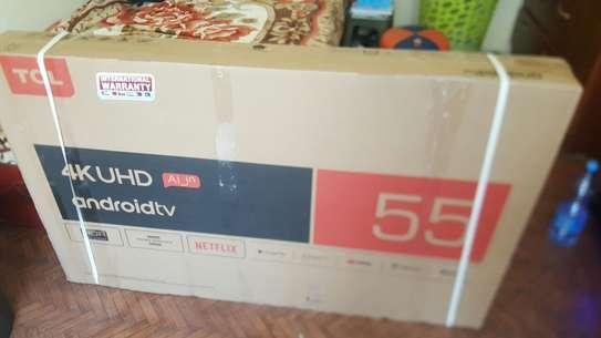 "TCL Smart Flat  55"" Tv"