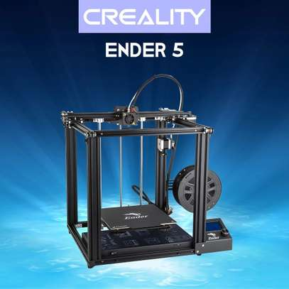 CREALITY Ender-5 3D Printer; Dual Y-axis Motors; Magnetic Build Plate; Power off Resume Printing; Enclosed Structure image 1