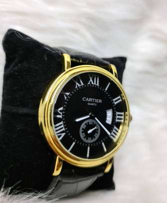Cartier Men's Watch With Box image 1