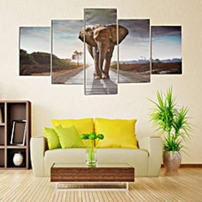Wall Painting Elephant Modern Abstract Art Prints