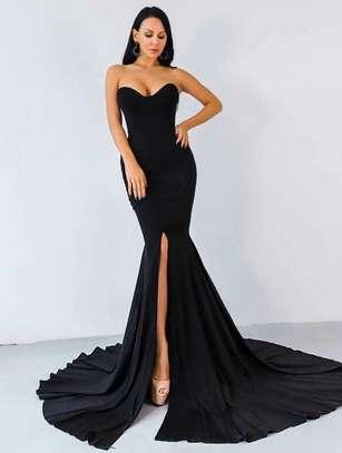 Split Mermaid Luxury Dress