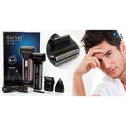 Kemei KM-1120 – 3 in 1 Shaver, Hair Clipper & Nose Trimmer image 3