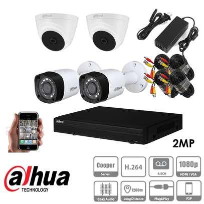 Security Camera Dahua 4 Channel Kit image 1