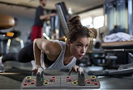 Multifunction Push-up Stands For GYM Body Training image 3