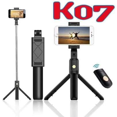 K07 Selfie Stick Integrated Tripod image 1