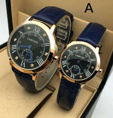 Brand Cartier Couple Watch