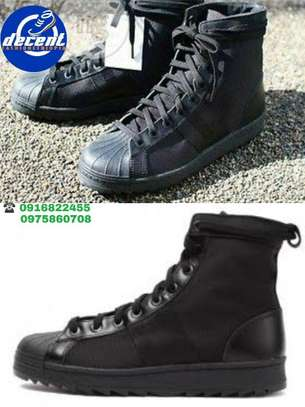 Black Adidas Men Shoes
