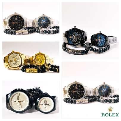 Couples Watch+Bracelet image 1