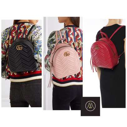 Assorted Colors Gucci Backpacks