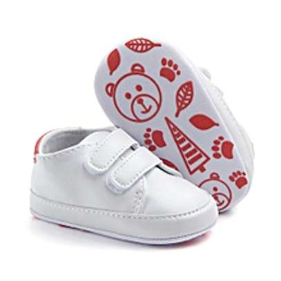 Infant Toddler Baby Boy Girl Soft Sole Crib Shoes image 1