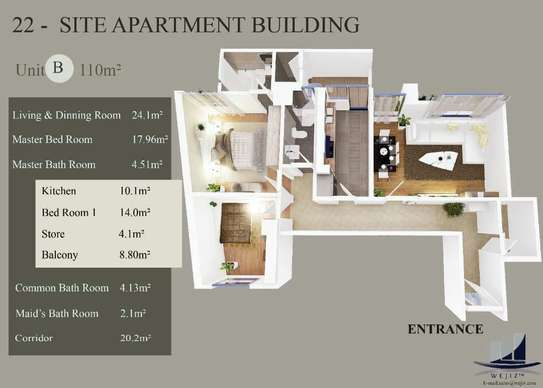 Apartment for sale image 1
