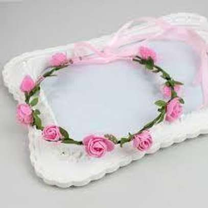 Flower occasional Hair band