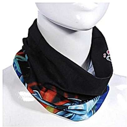 Multi-use Tube Scarf Bandana Head Face Mask Neck image 1