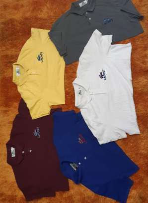 Assorted Colors Lacoste T-Shirts