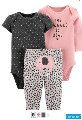Assorted Colors  Baby Clothes