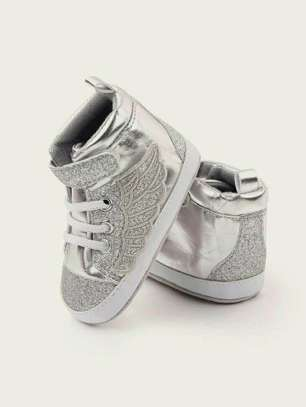 Silver New Fashion Kids Shoes