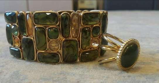 Bracelet With Ring Set
