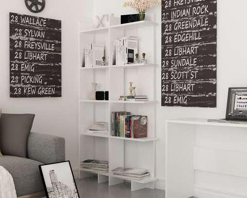 Corner Book Shelf image 1
