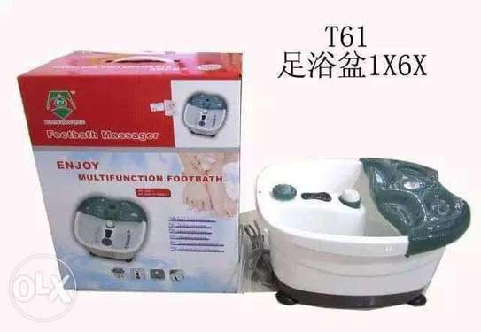 Multifunction Footbath Massager 1. Automatic heating and temperature preservation image 3