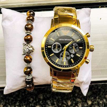 Emporio Armani Watch With Bracelet